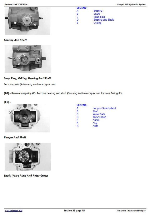 Third Additional product image for - John Deere 190E Excavator Service Repair Technical Manual (tm1540)