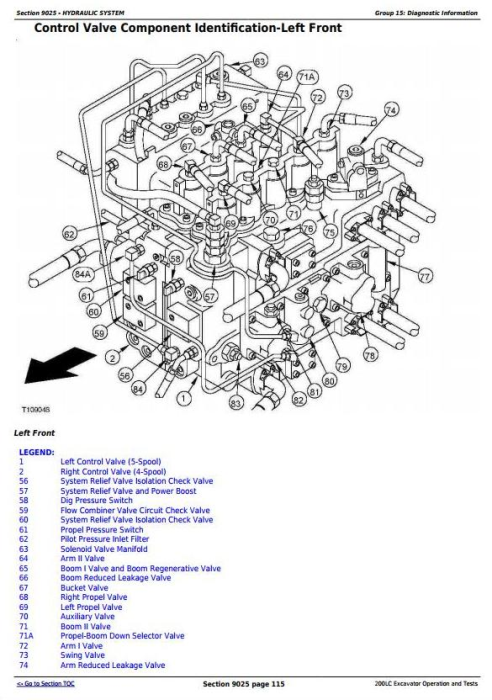 Fourth Additional product image for - John Deere 200LC Excavator Diagnostic, Operation and Test Service Manual (tm1663)