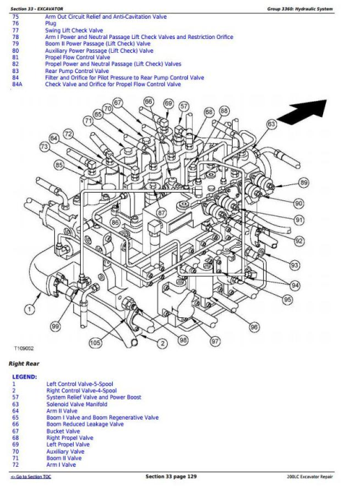 Third Additional product image for - John Deere 200LC Excavator Service Repair Manual (tm1664)