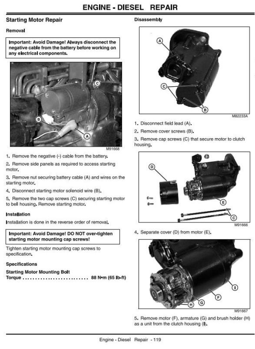Second Additional product image for - John Deere Backhoe Loader Tractors Diagnostic and Repair Technical Service Manual (tm1987)