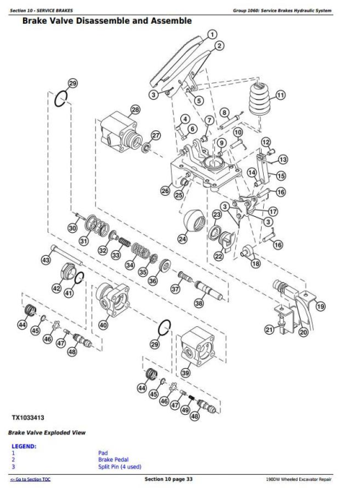 Third Additional product image for - John Deere 190DW Wheeled Excavator Service Repair Technical Manual (tm10543)