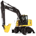 John Deere 190DW Wheeled Excavator Service Repair Technical Manual (tm10543)   Documents and Forms   Manuals