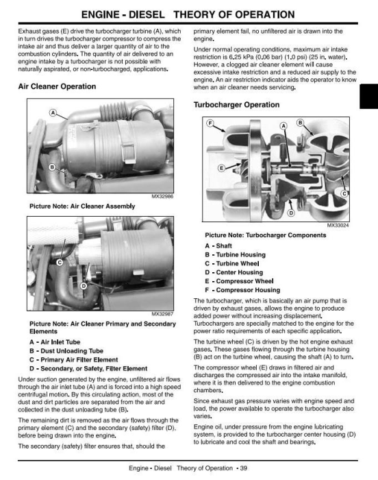 Second Additional product image for - John Deere 4120,4320,4520,4720(SN.120001-670000) Compact Utility Tractors w.Cab Technical Manual (tm2370)