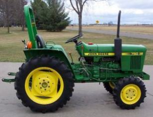 John Deere Utility Tractor 650 (SN.001000-025426), 750 (SN.001000-028161) Technical Service Manual TM1242 | Documents and Forms | Manuals
