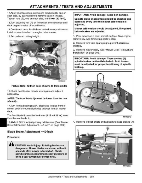 Third Additional product image for - Scotts L1642, L17.542, L2048, L2548 Lawn Tractors (John Deere) Technical Service Manual (tm1949)