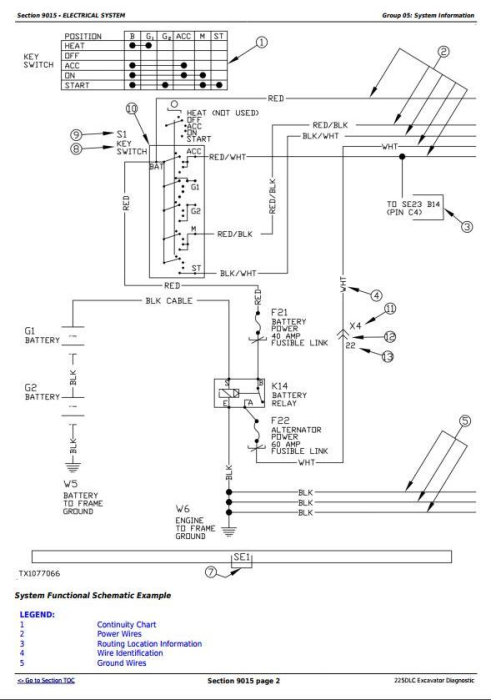 Second Additional product image for - John Deere 225DLC Excavator Diagnostic, Operation and Test Service Manual (TM10082)