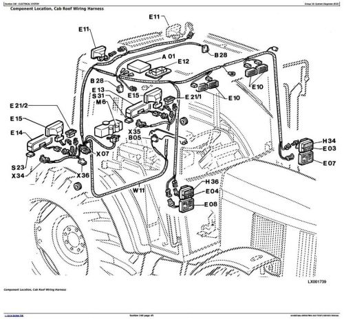 Third Additional product image for - John Deere 6100, 6200, 6300, 6400 Early Tractors Electrics Diagnistic Service Manual (tm4487elec)