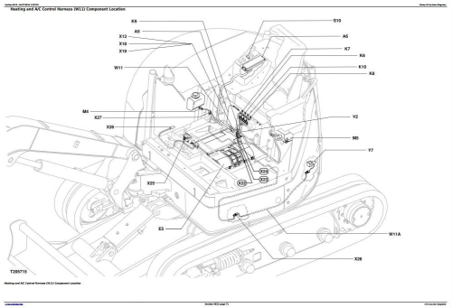 Fourth Additional product image for - John Deere 27D Compact Excavator Diagnostic, Operation and Test Manual (TM2355)