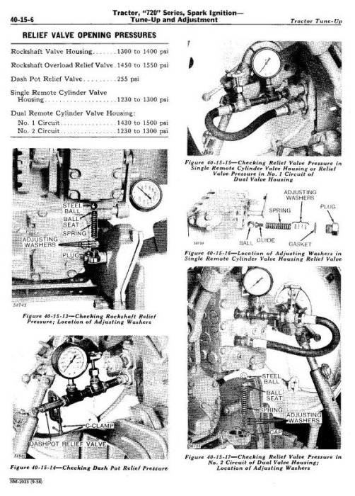 Third Additional product image for - John Deere 70, 720 & 730 (Gas) Tractor Technical Service Manual (sm2025)
