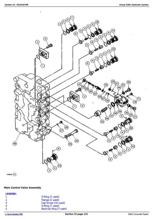 Third Additional product image for - John Deere 450LC Excavator Service Repair Technical Manual (tm1672)