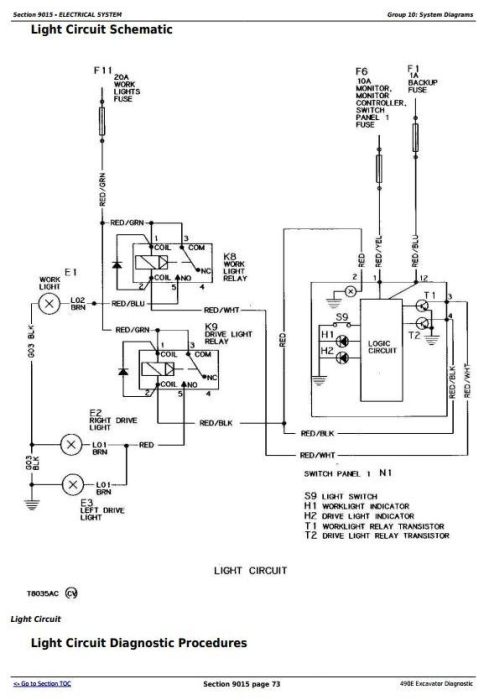 Second Additional product image for - John Deere 490E Excavator Diagnostic, Operation and Test Service Manual (tm1504)