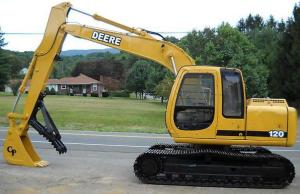 john deere 120 excavator diagnostic, operation and test service manual (tm1659)