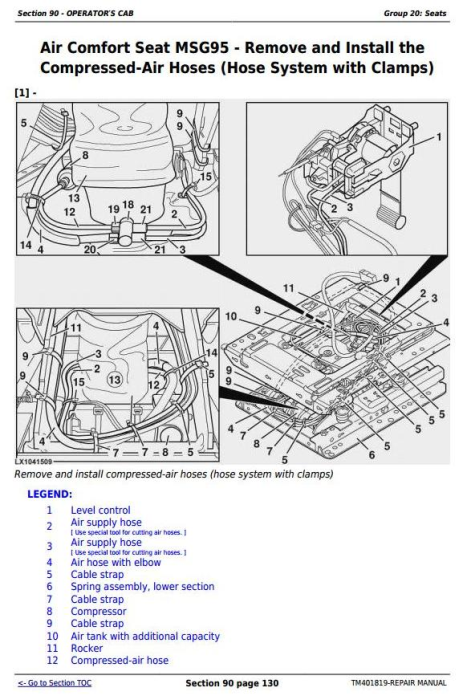 Second Additional product image for - John Deere Tractor 5080R, 5090R, 5100R, 5080RN, 5090RN, 5100RN (European) Service Repair Manual TM401819