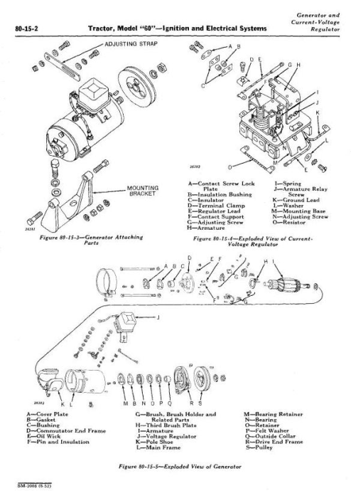 Third Additional product image for - John Deere Model 60, 620, 630  Series Tractors Tractors Service Technical Manual (sm2008)