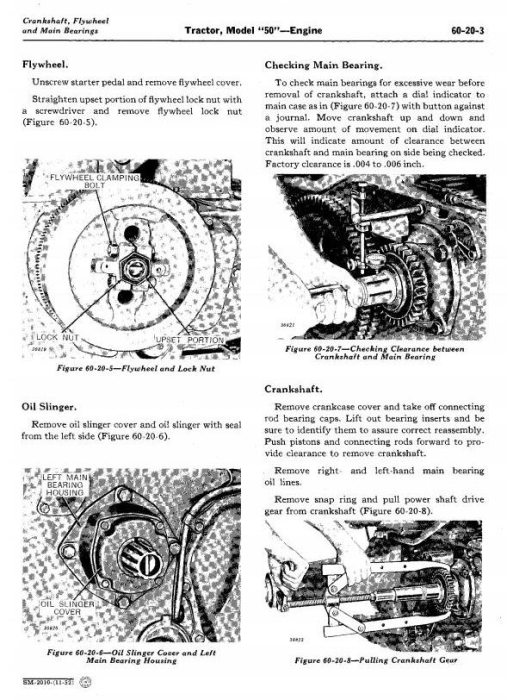 Third Additional product image for - John Deere Service Manual for Model 50, 520, 530 Series Tractors (sm2010)