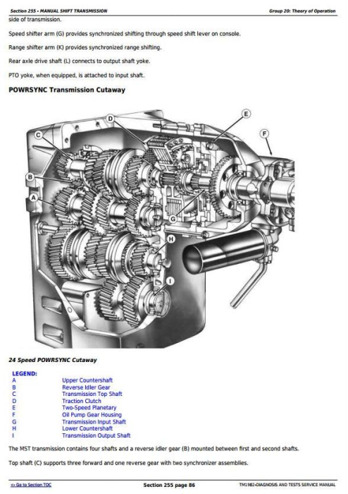 Fourth Additional product image for - John Deere 9320T, 9420T, 9520T and 9620T Tracks Tractors Diagnosis and Tests Service Manual (TM1982)
