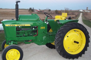 john deere 2010 row-crop, rc utility, hi-crop tractors technical service manual (sm2035)