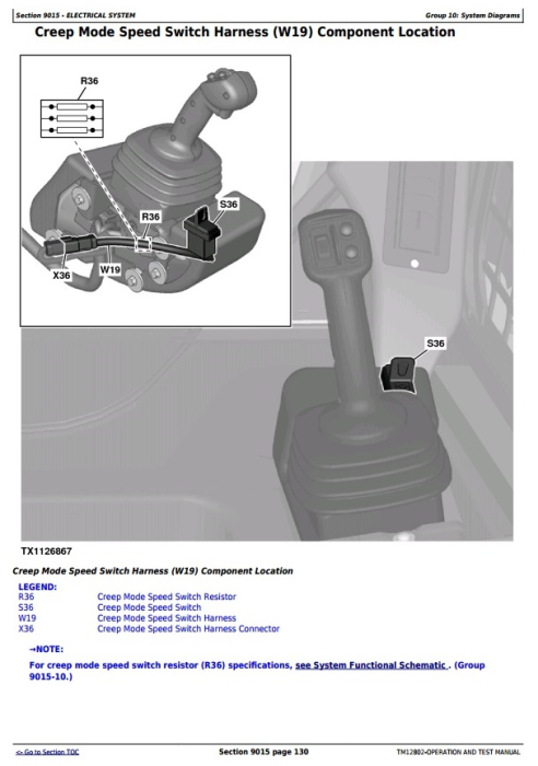 Second Additional product image for - John Deere Skid Steer Loaders models 328E, 332E (SN.E236673-) Diagnostic and Test Service Manual (TM12802)