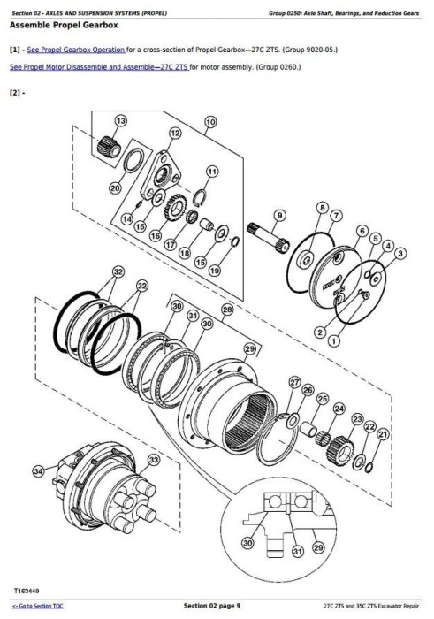 Second Additional product image for - John Deere 27Czts and 35Czts Compact Excavator Service Repair Technical Manual (TM2053)