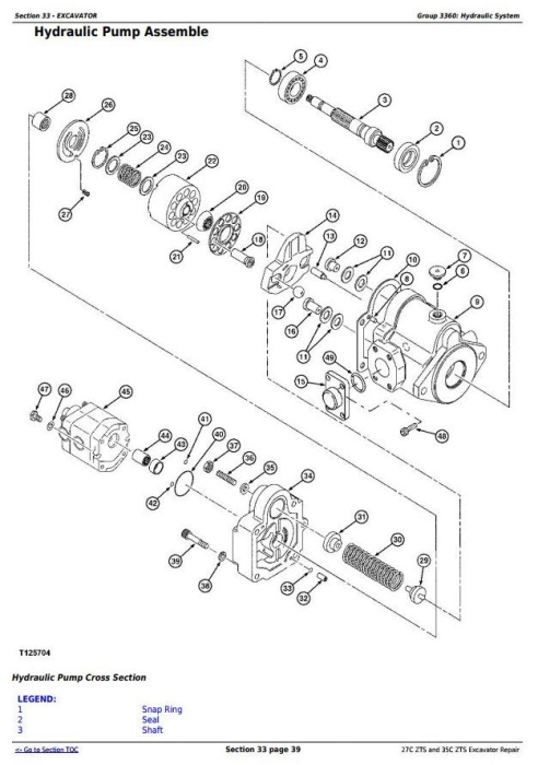 Fourth Additional product image for - John Deere 27Czts and 35Czts Compact Excavator Service Repair Technical Manual (TM2053)