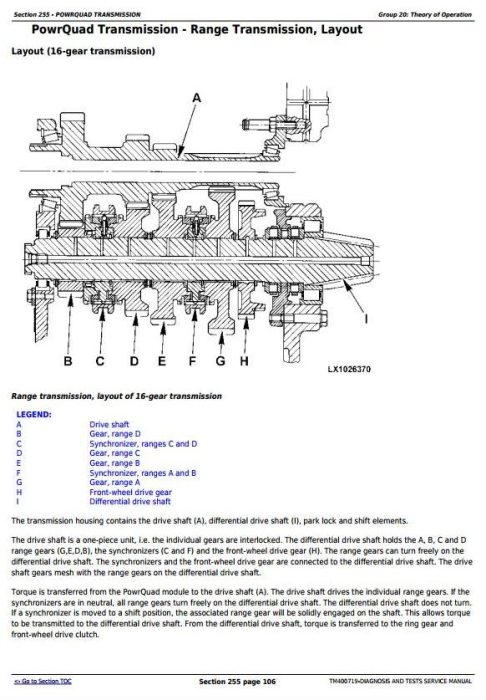 Second Additional product image for - John Deere Tractors 6230, 6330, 6430, 6530, 6630,7130, 7230 (USA) Diagnostic Service Manual (TM400719)