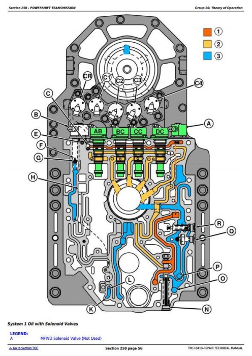 Second Additional product image for - John Deere 8310RT, 8335RT, 8360RT Tractors Diagnostic and Tests Service Manual (TM110419)
