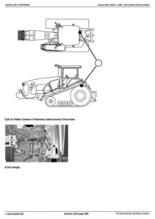 Fourth Additional product image for - John Deere 8310RT, 8335RT, 8360RT Tractors Diagnostic and Tests Service Manual (TM110419)