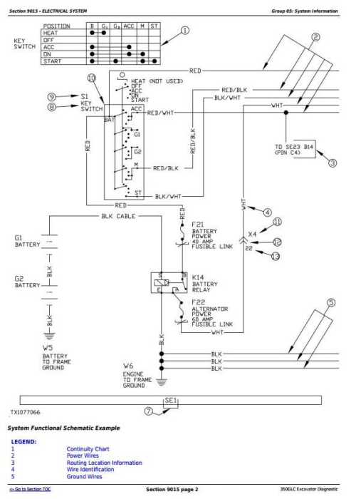 Second Additional product image for - John Deere 350GLC Excavator Diagnostic, Operation and Test Service Manual (TM13196X19)