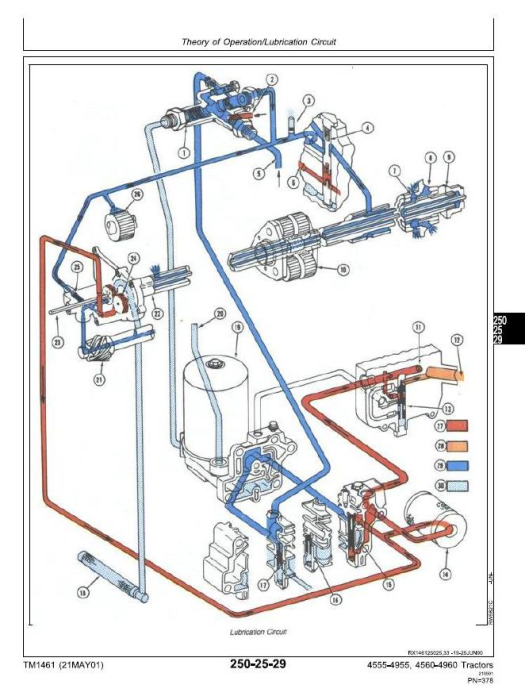 Second Additional product image for - John Deere 4555, 4560, 4755, 4760, 4955, 4960 Tractors Diagnosis and Tests Service Manual (tm1461)