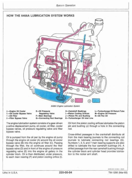 Second Additional product image for - John Deere 8450, 8650, 8850 4WD Articulated Tractors Technical Service Manual (tm1256)