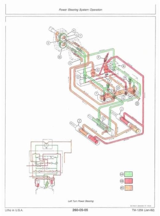 Third Additional product image for - John Deere 8450, 8650, 8850 4WD Articulated Tractors Technical Service Manual (tm1256)
