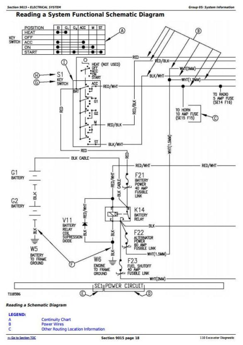 Second Additional product image for - John Deere 110 Excavator Diagnostic Operation and Test Service Manual (tm1657)