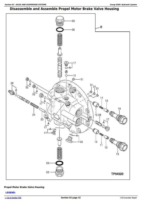 Second Additional product image for - John Deere 110 Excavator Service Repair Technical Manual (tm1658)