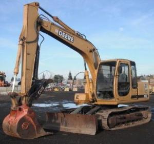 John Deere 110 Excavator Service Repair Technical Manual (tm1658)   Documents and Forms   Manuals