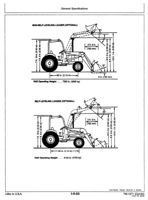 Second Additional product image for - John Deere 401D Utility Construction Tractor Technical Manual (tm1271)