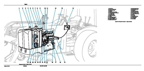 Fourth Additional product image for - John Deere 401D Utility Construction Tractor Technical Manual (tm1271)
