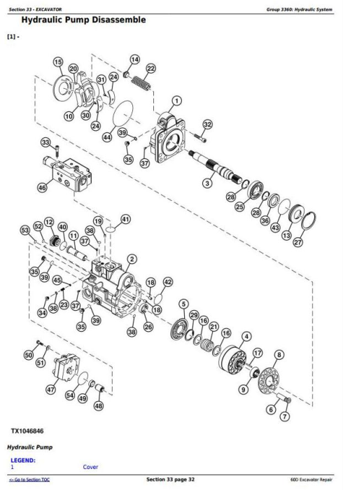 Fourth Additional product image for - John Deere 60D Compact Excavator Service Repair Technical Manual (TM10761)