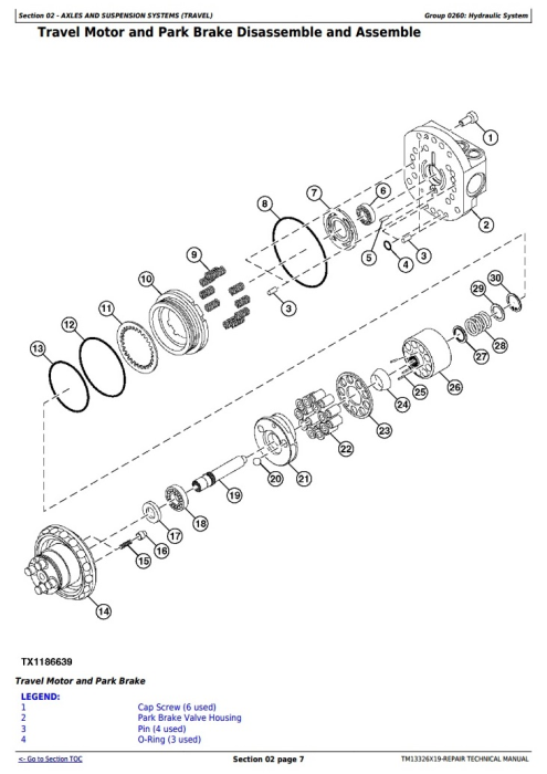 Second Additional product image for - John Deere 17G (SN. from 225001) Compact Excavator Service Repair Technical Manual (TM13326X19)