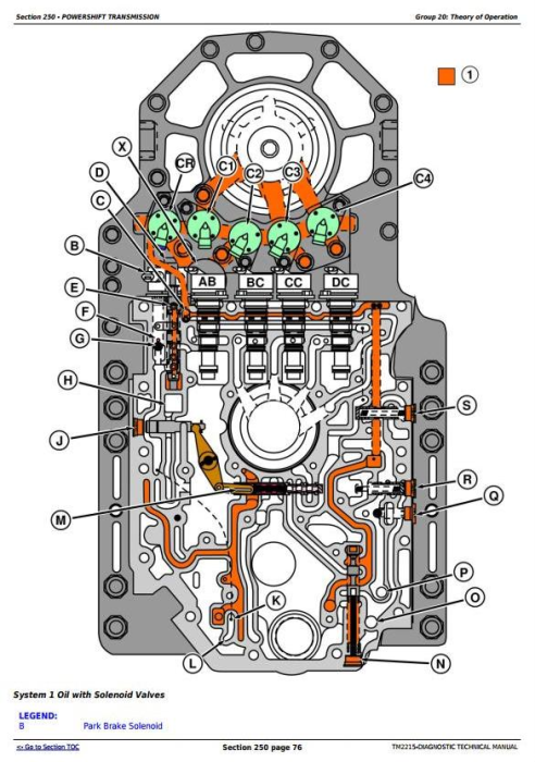 Second Additional product image for - John Deere 8230T, 8330T & 8430T Tracks Tractors Diagnosis and Tests Service Manual (TM2215)