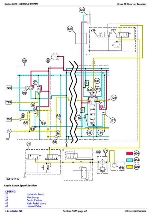 Fourth Additional product image for - John Deere 60D Compact Excavator Diagnostic, Operation and Test Service Manual (TM10760)