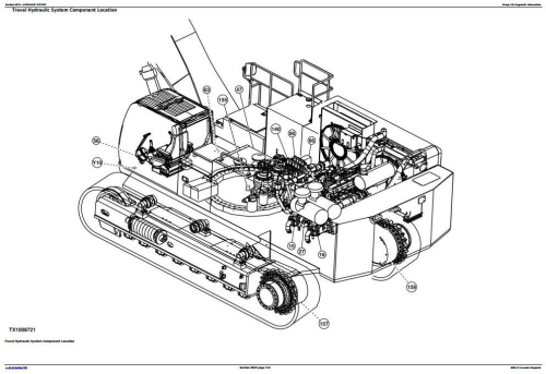 Fourth Additional product image for - John Deere 850DLC Excavator Diagnostic, Operation and Test Service Manual (TM10009)