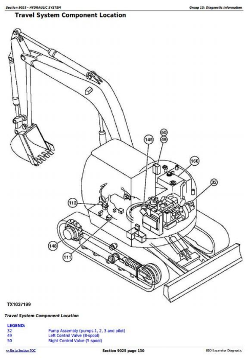 First Additional product image for - John Deere 85D Excavator Diagnostic, Operation and Test Service Manual (TM10754)
