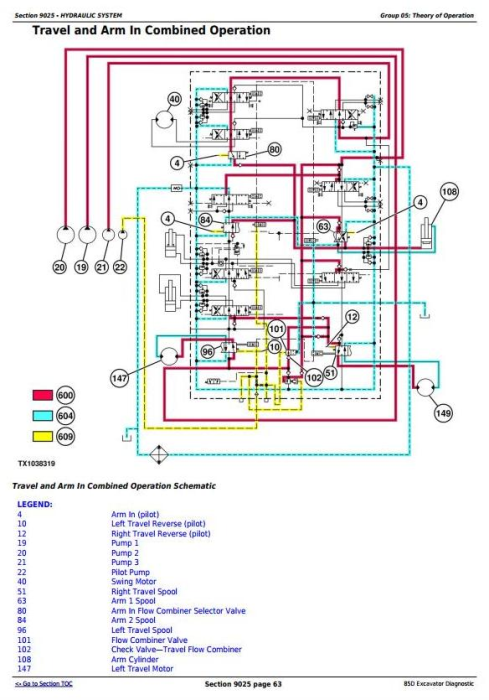 Fourth Additional product image for - John Deere 85D Excavator Diagnostic, Operation and Test Service Manual (TM10754)