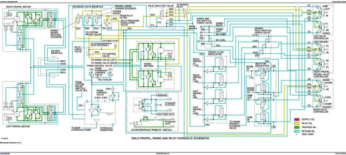 Fourth Additional product image for - John Deere 550LC excavator Diagnostic Operation and Test Service Manual (tm1807)