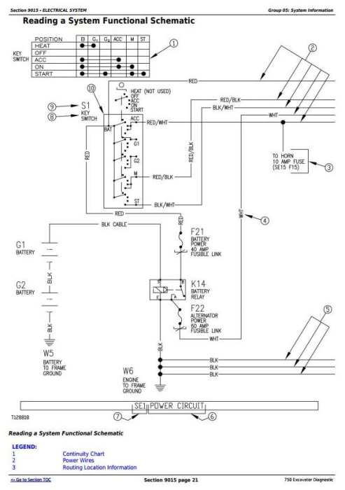Second Additional product image for - John Deere 750 Excavator Diagnostic, Operation and Test Service Manual (tm1809)