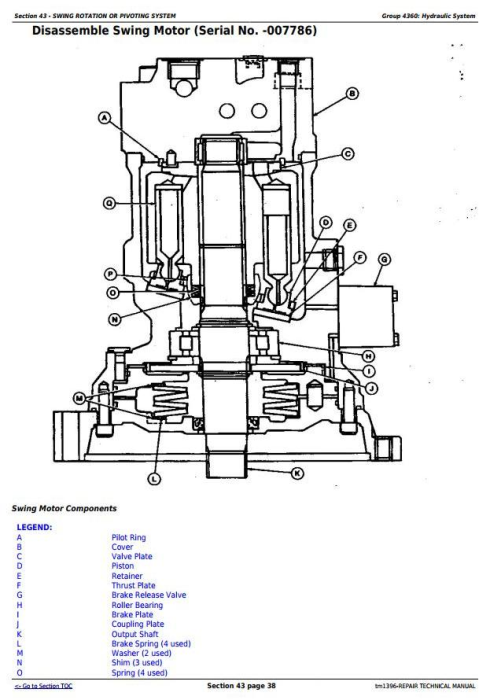 Fourth Additional product image for - John Deere 790D, 790D-LC, and 892D-LC Excavator Service Repair Technical Manual (tm1396)
