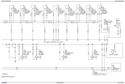 Third Additional product image for - John Deere 120D Excavator Service Repair Manual (TM10737)
