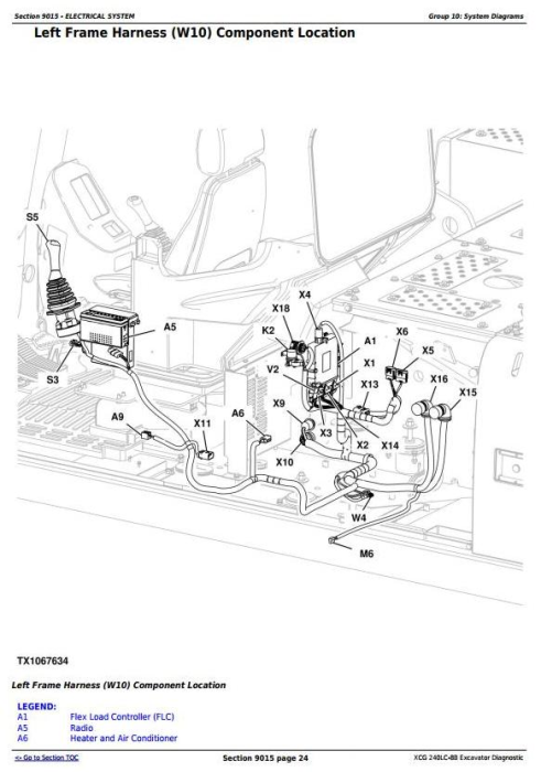 Second Additional product image for - XCG 240LC-8B Excavator Diagnostic, Operation and Test Service Manual (TM11478)