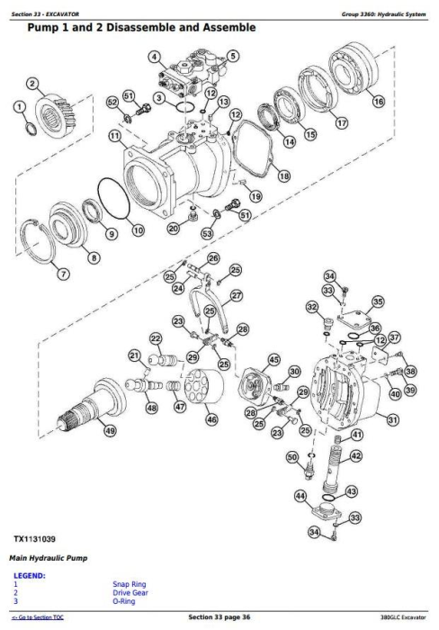 Third Additional product image for - John Deere 380GLC (PIN:1FF380GX__D900001) T3/S3A Excavator Service Repair Technical Manual (TM12575)