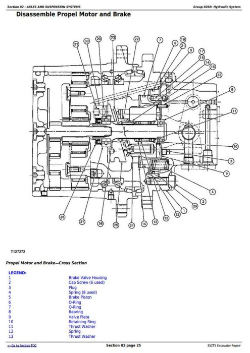 Second Additional product image for - John Deere 35ZTS Compact Excavator Service Repair Technical Manual (TM1839)